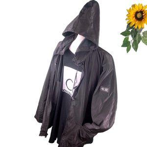 Calvin Klein Jean Polyurethane Rain Jacket Coat